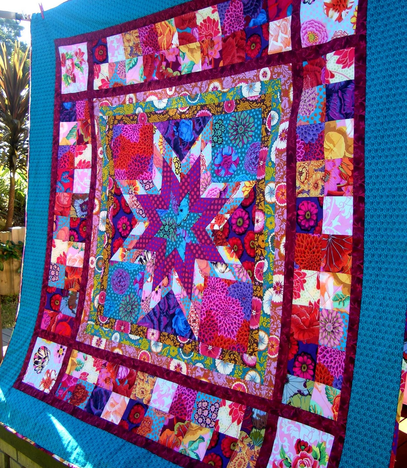 Chasing Cottons Quilt Class 101 Week 6 Borders