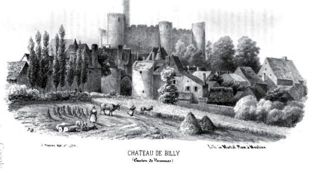 patrimoine de l'Allier Château de Billy