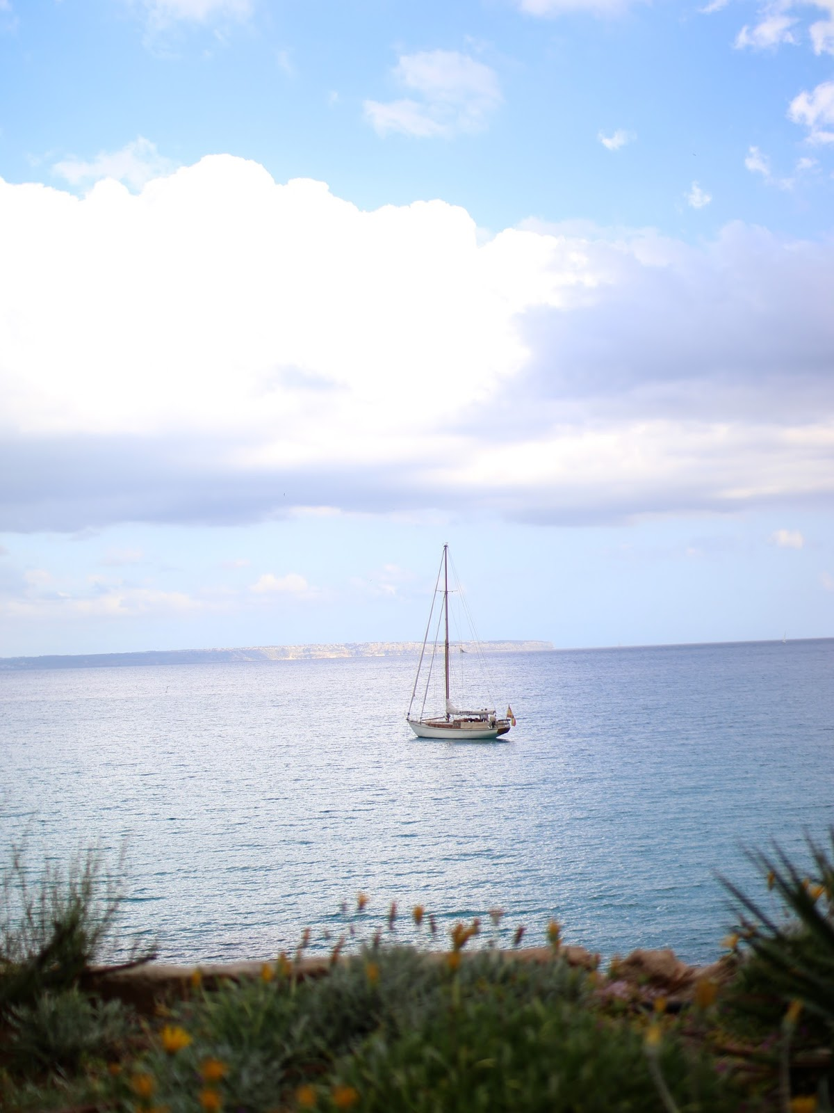 sailboat in spain