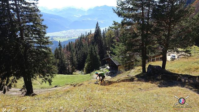 Mountainbiketour Buchacker und Nachbergalm