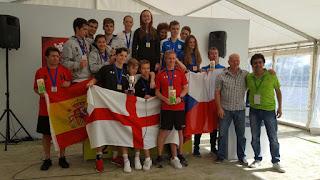 SQUASH - España es campeona de Europa individual sub19 y subcampeones por equipos