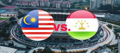 Live Streaming Malaysia vs Tajikistan Kejohanan B-16 AFC 20.9.2018