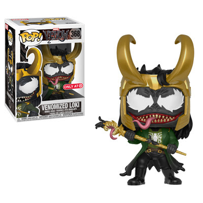 Venomized Loki Pop!