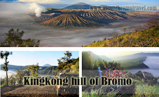 Kingkong hill of Bromo