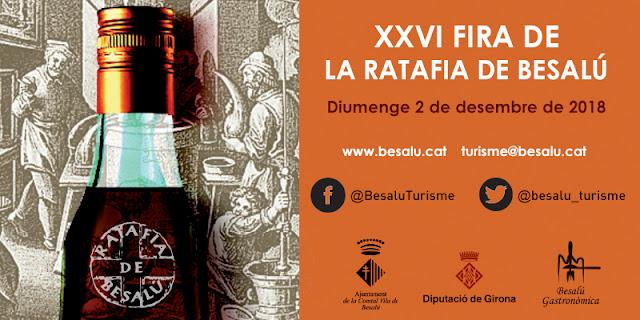 [#AgendaVadeTeca] XXVI Fira de la Ratafia Besalú
