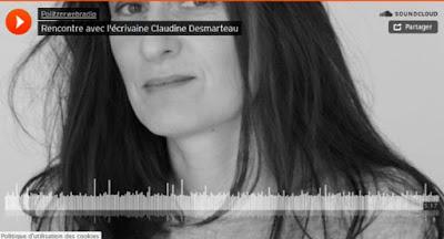 https://politzerwebradio.wordpress.com/2017/03/20/rencontre-avec-lecrivaine-claudine-desmarteau/