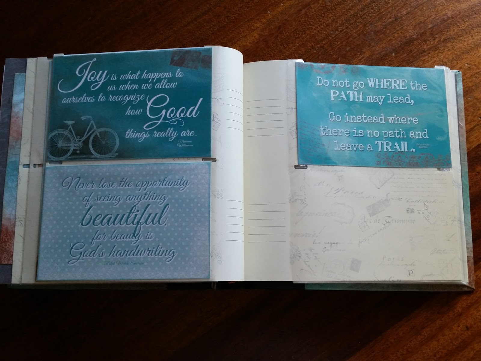 Deanna Lynn\u002639;s Designs: Quick Quotes Scrapbooking Mini