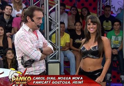Carol Dias sai do Panico