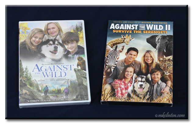 Against the Wild 1 & 2 DVD movies