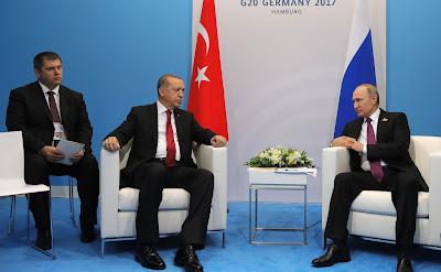 Russian President and Recep Tayyip Erdogan.