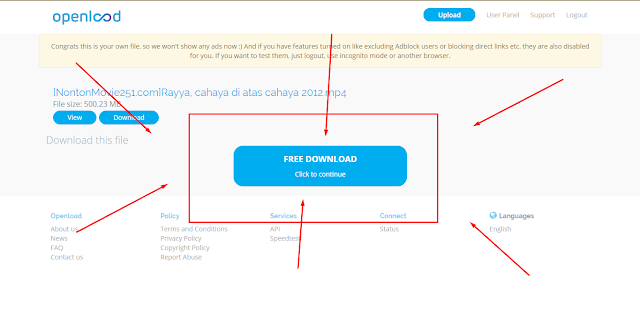 cara download film termudah