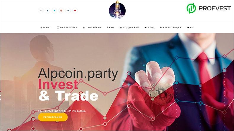 AlpCoin обзор и отзывы HYIP-проекта