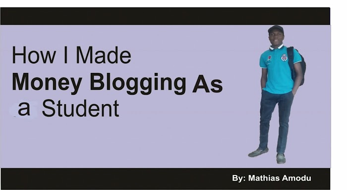 How I Made Money Blogging As a Student