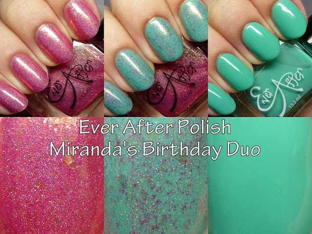 Ever After Polish Miranda's Birthday Duo