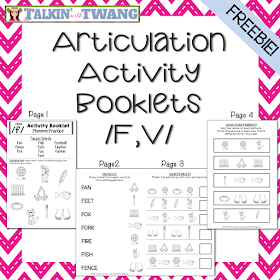 /f,v/ Activity Booklets