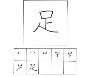 kanji ashi