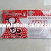 Bunting Flag HAPPY BIRTHDAY Motif Minnie Mouse Merah