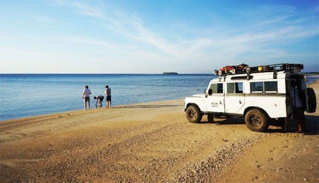 Tuor Land Rover di Pulau Lombok