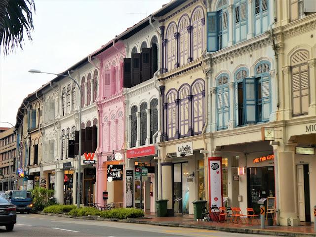 kolonialhus i Singapore