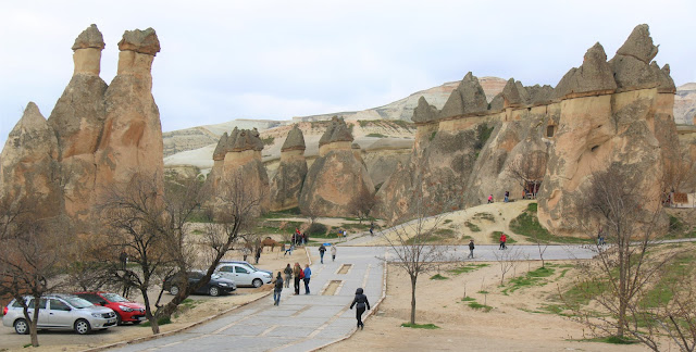 Pasabag Valley in Cappadocia, Turkey