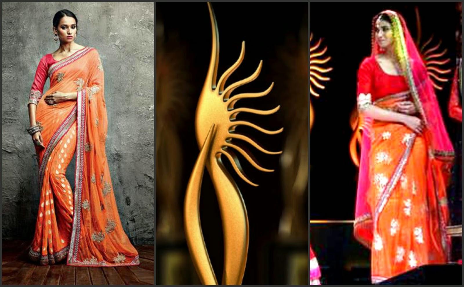 IIfa saree 2014, iifa saree collection 2014, iifa awrads 2014
