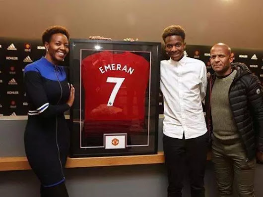 Man Utd Signing Noam Emeran Has 'Taken Alexis Sanchez's No7 Shirt' Already