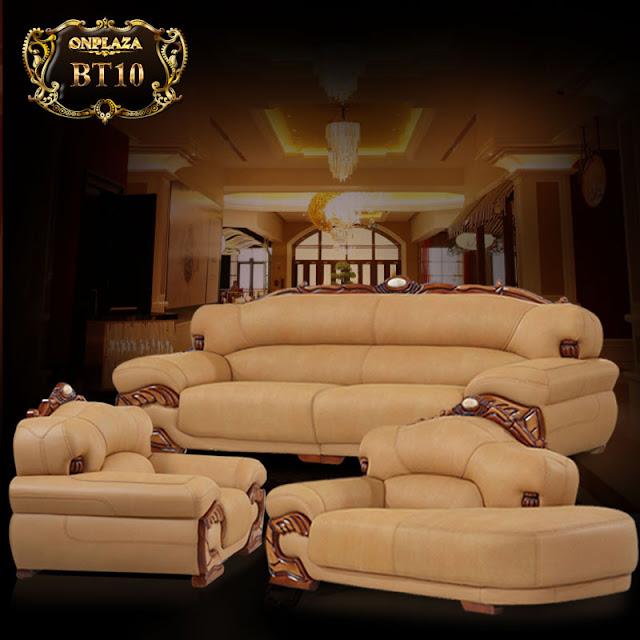 Sofa tân cổ điển cho phòng khách hiện đại