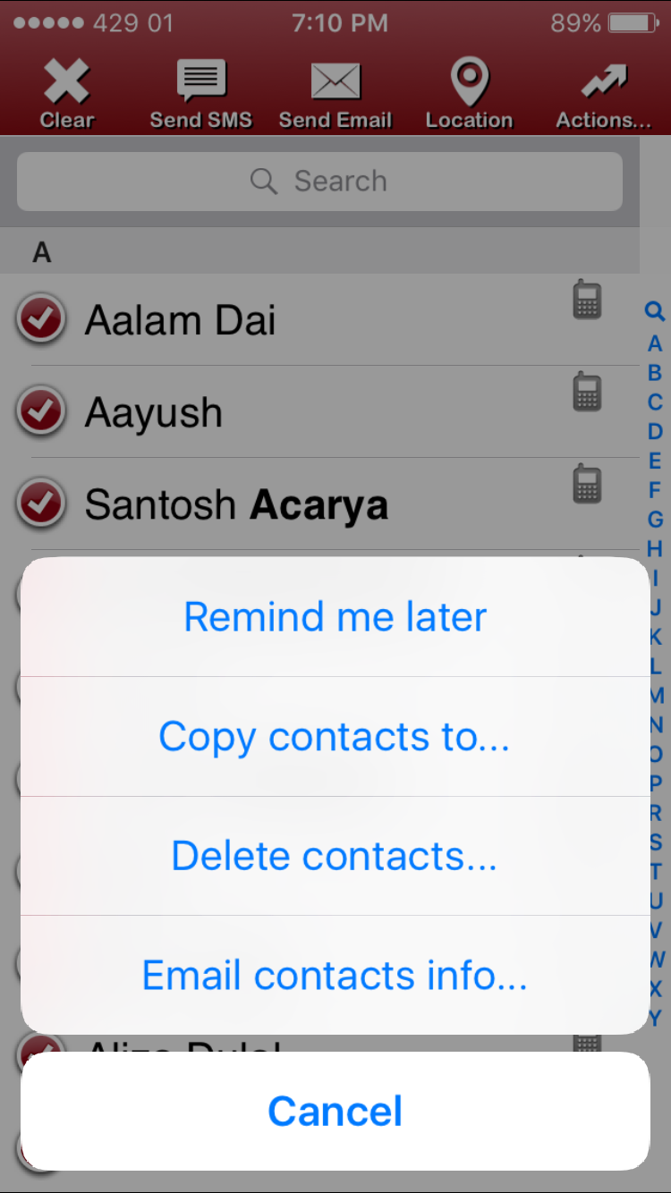 delete other on iphone how to delete all contacts at once on iphone and 2270