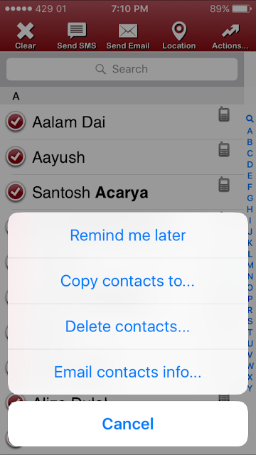 Deleting contact on iPhone is not as easy as on other phones. You have to process with one by one step to delete contacts of your iPhone and it's a time consuming