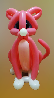 Кошечка из воздушных шариков