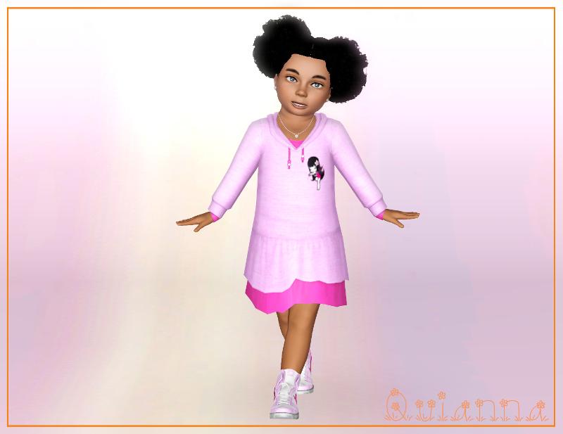 Quianna: Flower Baby Dress