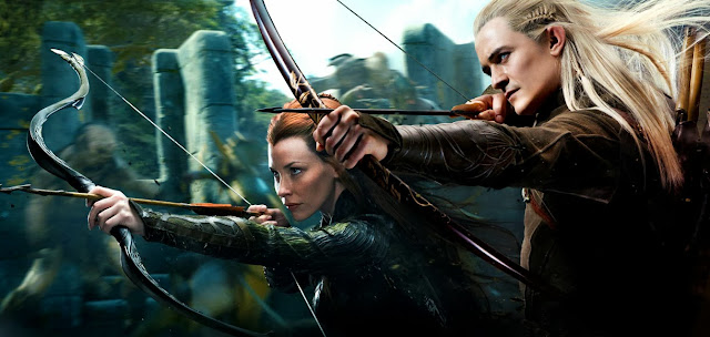 Tauriel si Legolas in Desolation Of Smaug