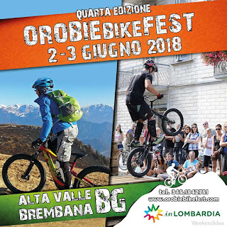 Orobie Bike Fest 2-3 giugno Piazza Brembana (BG)