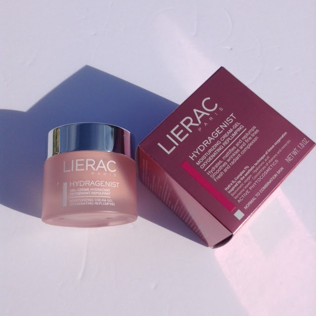 LIERAC Hydragenist Moisturizing Cream-Gel Oxygenating Replumping