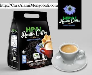 Khasiat kopi herbal health coffe plus habbatussauda Asli hpai utk stamina obat