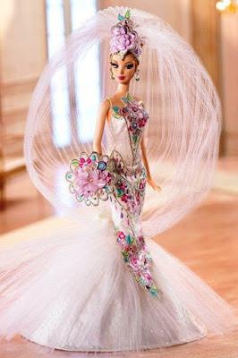 Contoh Model Gaun Pengantin Barbie
