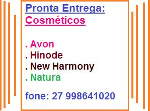 Marina Cosméticos... | avon racco, hinode,natura, New Harmony...