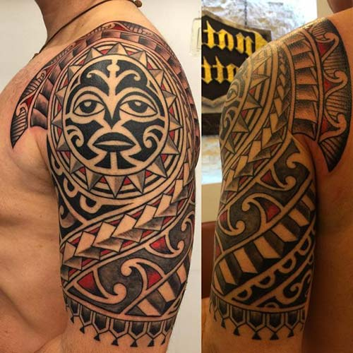 maori tribal dövmeler tattoos 44