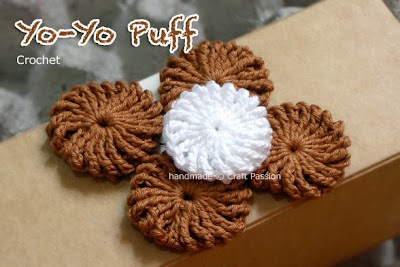 Como hacer Yo-yos de Crochet Tutorial