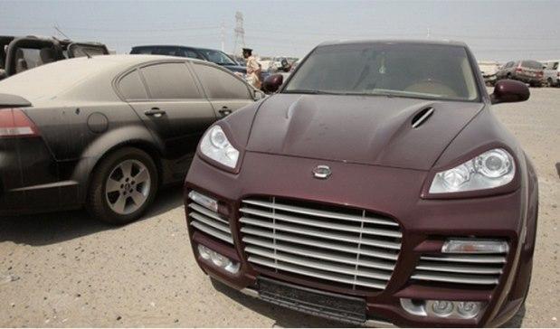 غرامة 135 دولارا على السيارات المتسخة في دبي ؟
