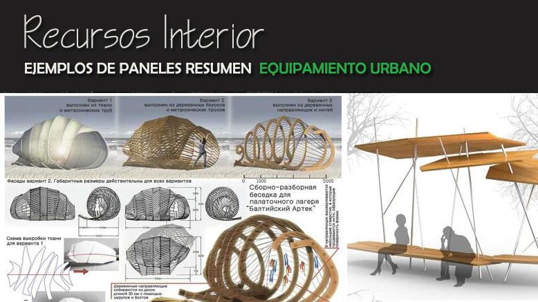 2018 recursos interior autocad descargas dwg ideas for Ejemplos de mobiliario urbano