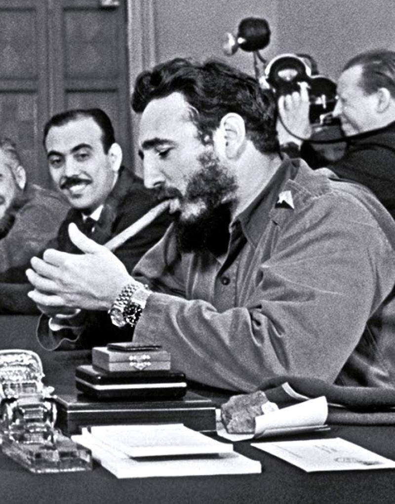 Khruschev-with-Fidel-Castro-Rolex-Day-Da