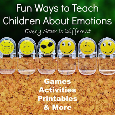 Fun ways to teach children about emotions