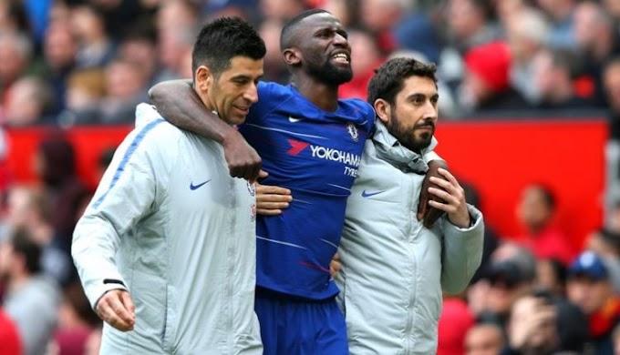 Chelsea defender Rudiger to miss rest of season