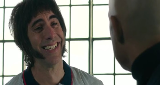 Sacha Baron Cohen con patillacas