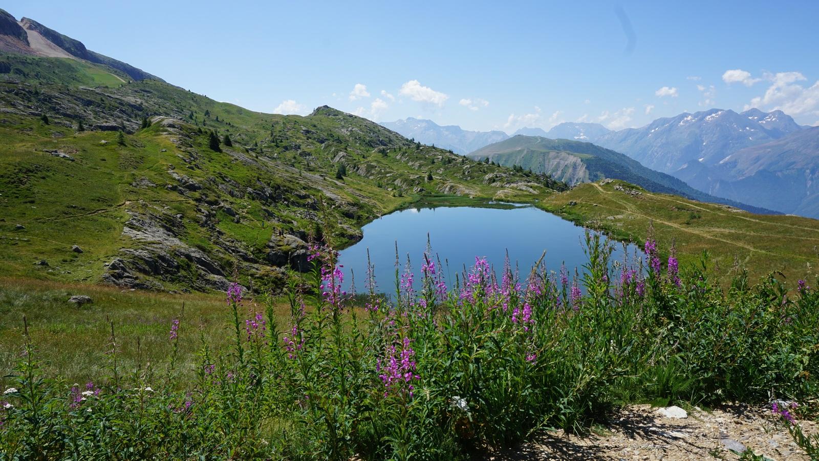 Lac Carrelet Alpe d'Huez