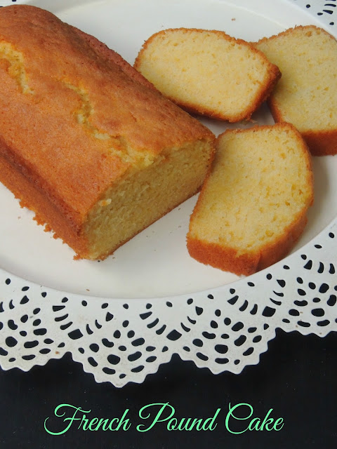 Quatre Quart,French Pound Cake, Pound Cake