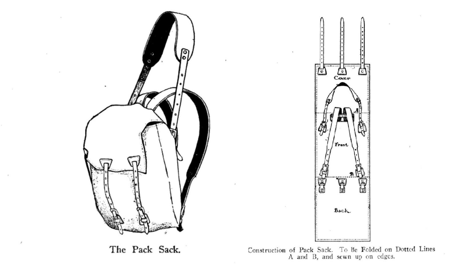 Wood Trekker Classic Backpacking Gear