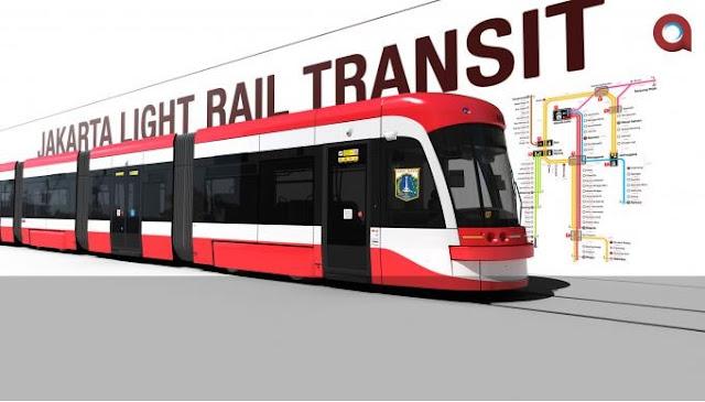 Perkembangan Pembangunan LRT Jakarta