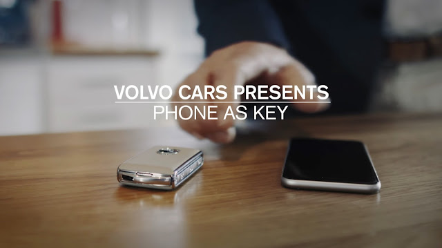 Volvo Cars Without Physical Keys